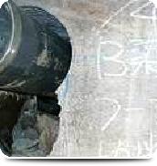 地下ピット コンクリート壁の欠損・鉄筋切断