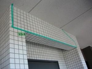 マンション外壁タイルの浮き