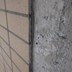 マンションの外壁タイルはこう張る!こう剥がれる!