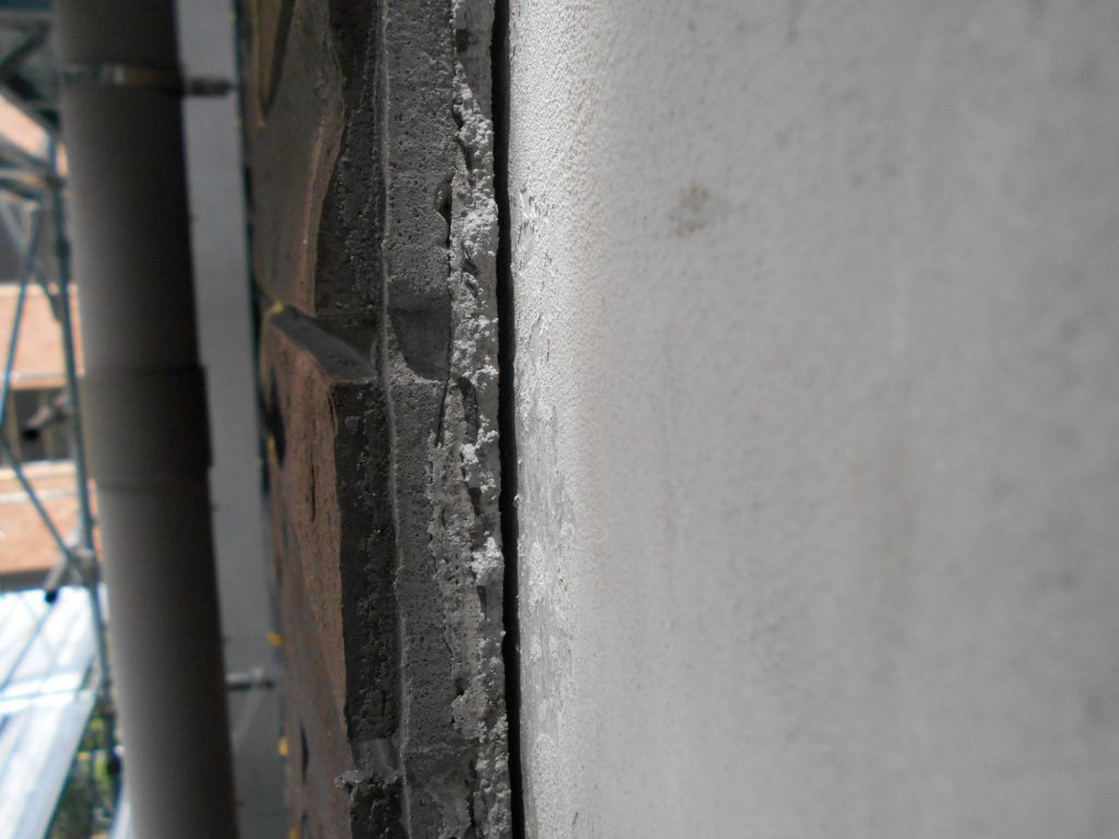 外壁タイルの浮き