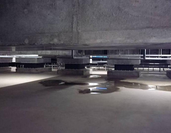 マンション地下ピットが排水の不具合で水たまりに・・・その対処法