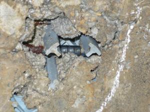 コンクリート鉄筋露出事例2