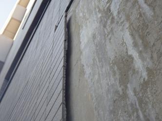 マンションの外壁タイルが剥落